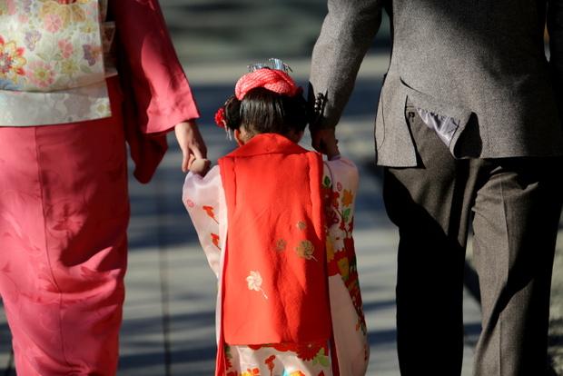 家族の中へお邪魔する3時間。東京都 多摩川浅間神社