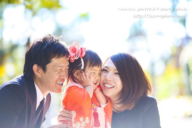 七五三 出張撮影【鎌倉鶴岡八幡宮】2時間コース<br>『アルバムをめくれば、いつ見ても3歳のわが子に会える』